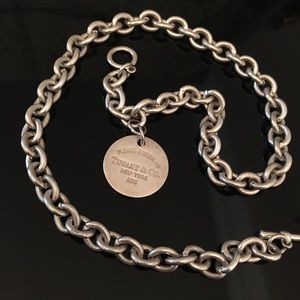 Jewelry - Tiffany & Co. Faux Tag necklace